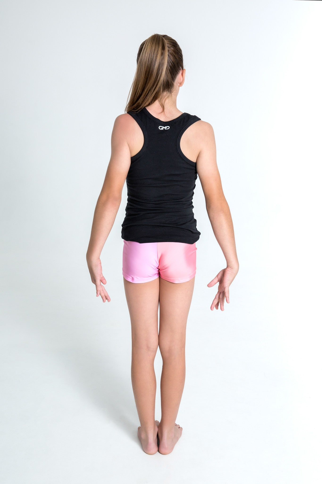 I Can & I will Pink Sequin Motivational Singlet for Children by GMD Activewear Australia