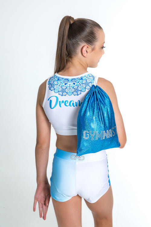 Blue Glitter Guard Bag
