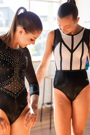 Empire Leotard Black