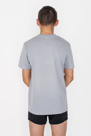 Grey Mens Gymnastics Tee