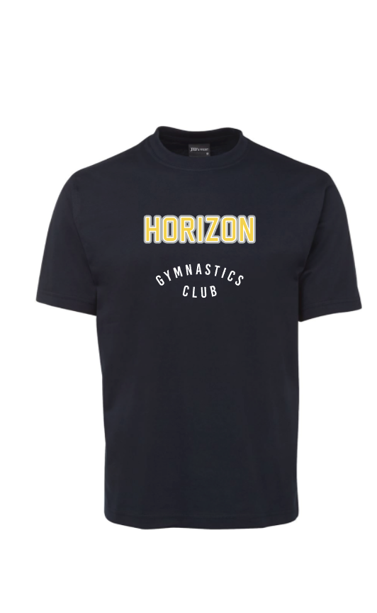 Horizon Navy Tee