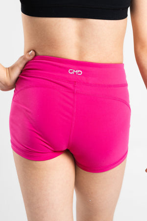 Hot Pink Basics Shorts