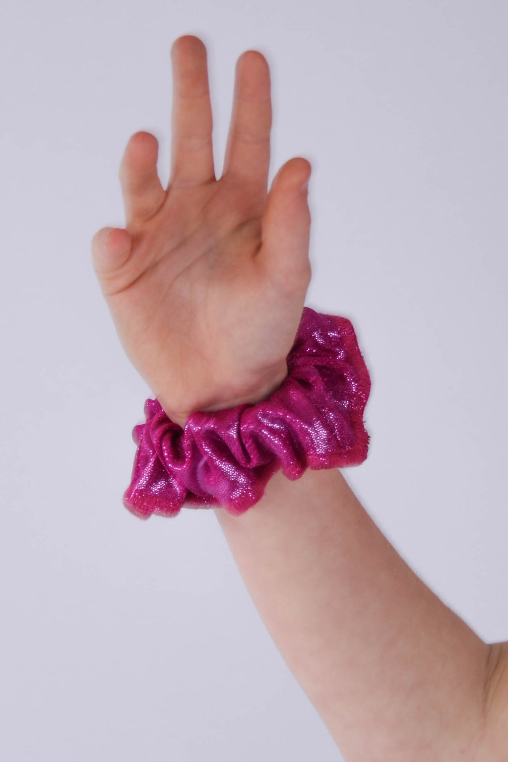 Deep Magenta Mystique Scrunchie