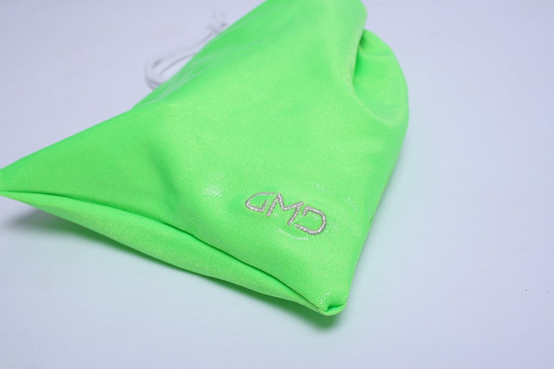 Neon Lime Green Mystique Guard Bag (name optional)