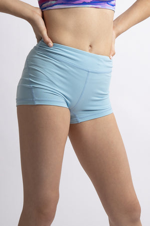 Sky Blue Basics Shorts