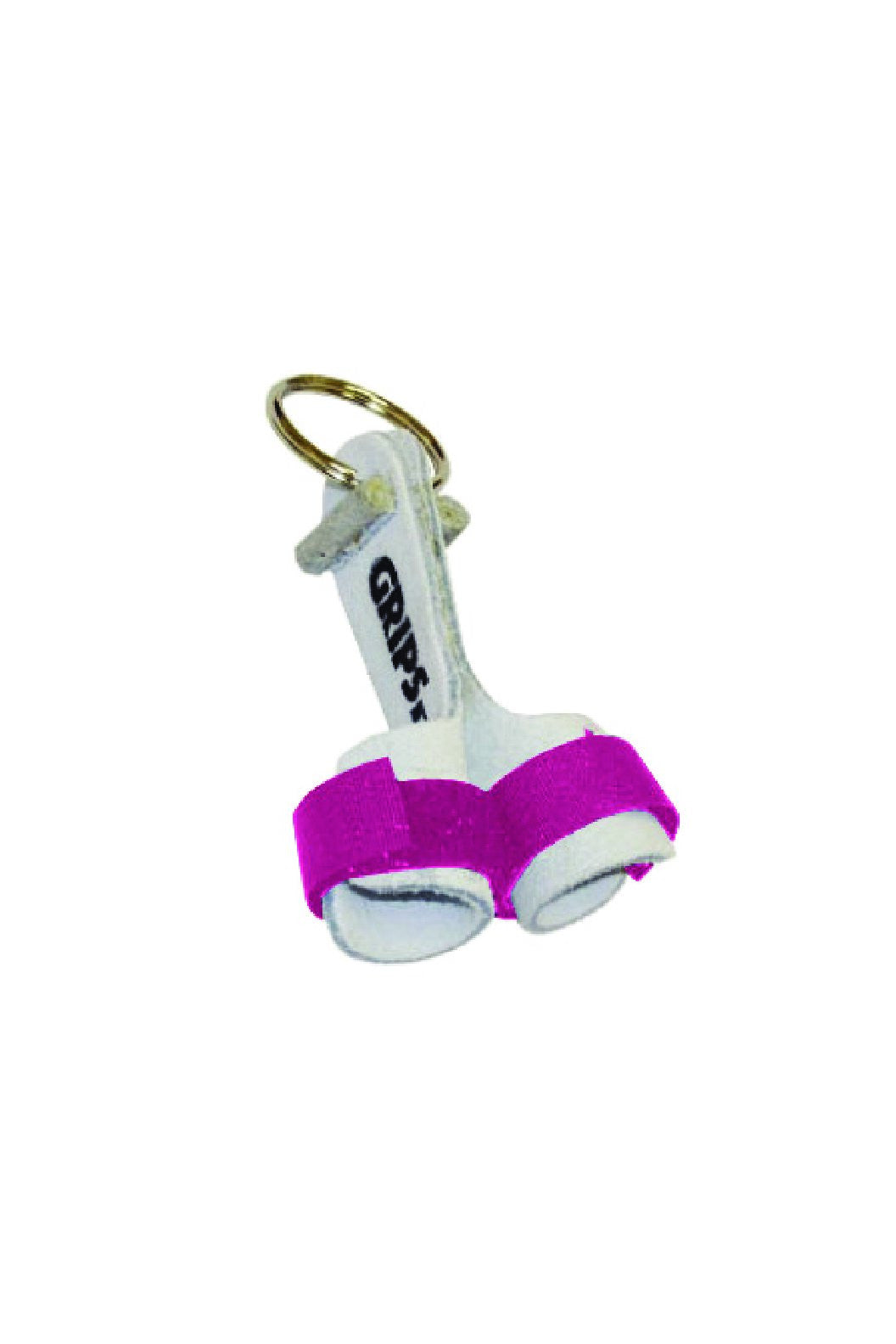 Mini Grips Key Ring Hot Pink