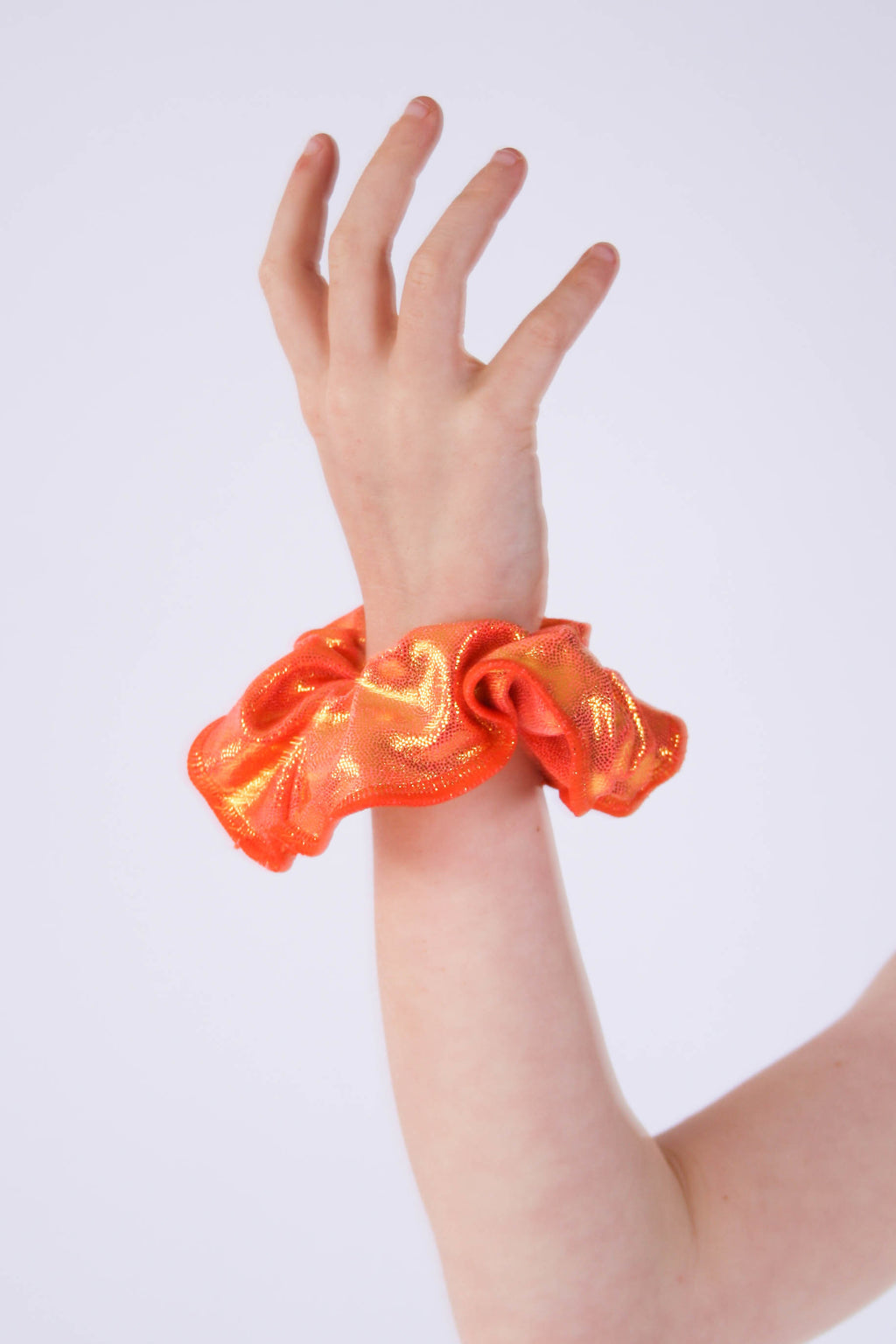 Orange Gold Mystique Scrunchie