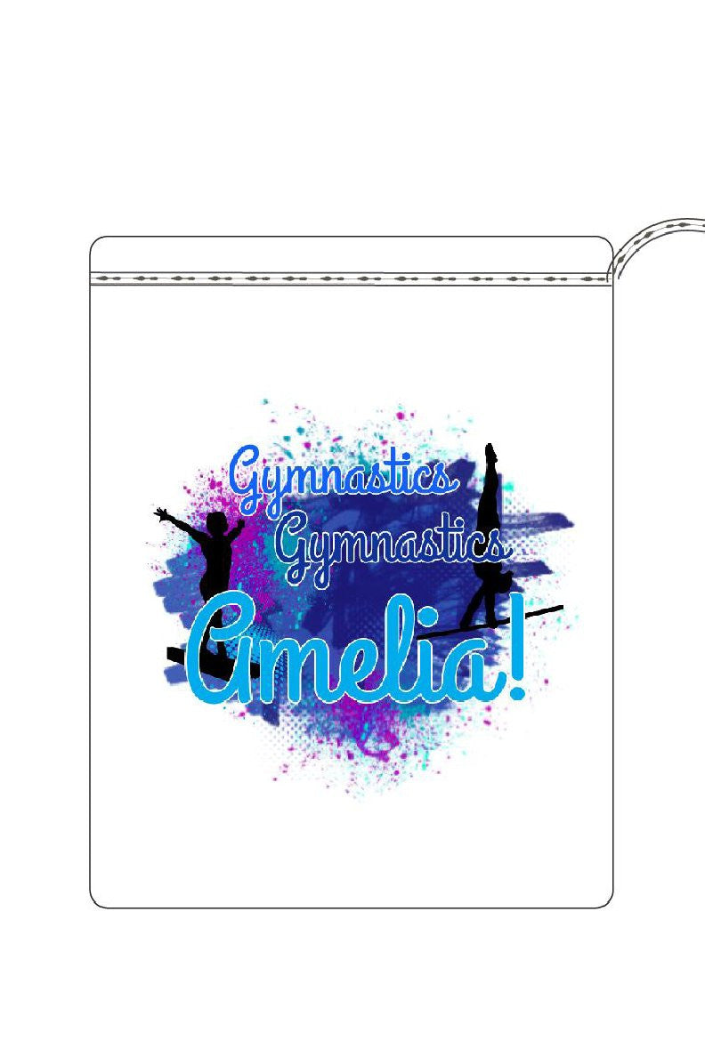 Blue Personalised Gymnastics Guard Bag