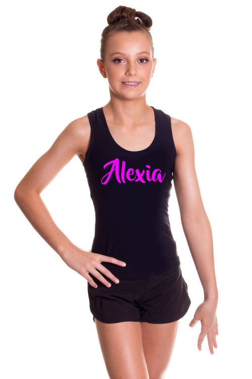 Personalised Childrens Singlet by GMD Activewear Australia