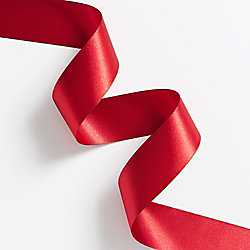 Southport Gymnastics Red Satin Ribbons