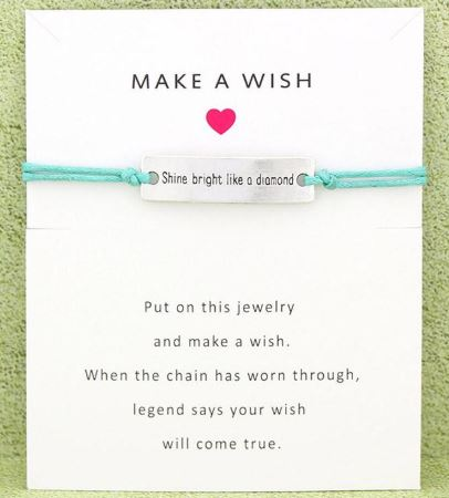 Shine Bright like a Diamond- Charm Bracelet   Mint
