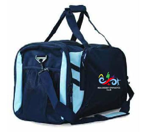 Beaudesert Gymnastics Club Sports Bag (name optional)