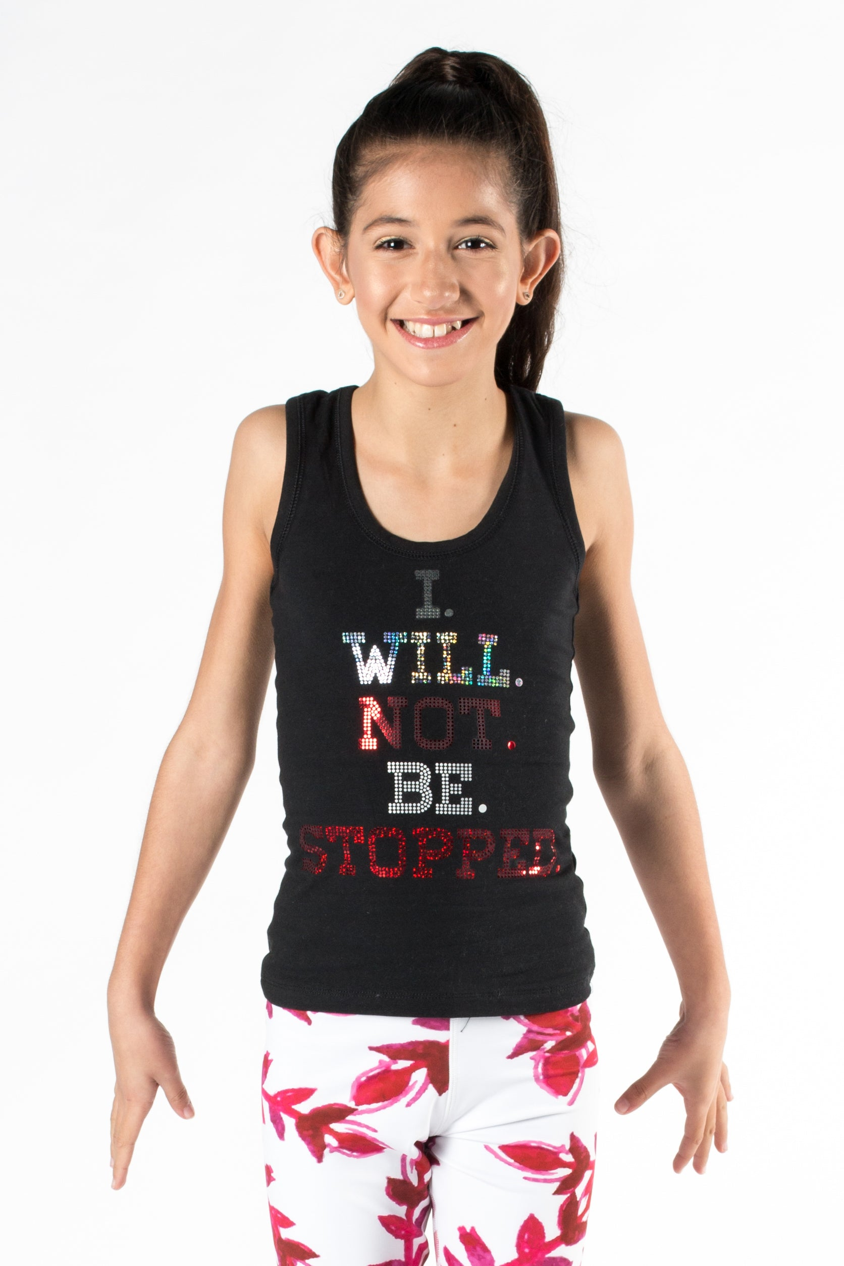 Childrens Motivational Singlet by GMD Activewear Australia