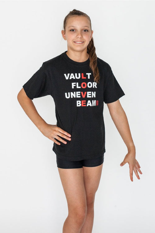 Woman's Gymnastics Tee Shirt