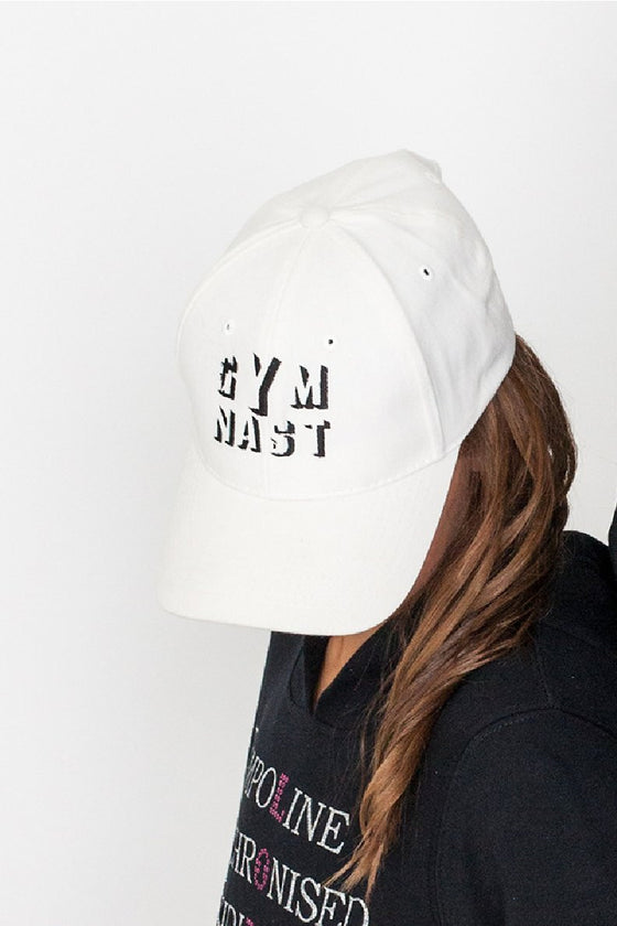 Gymnast Cap White