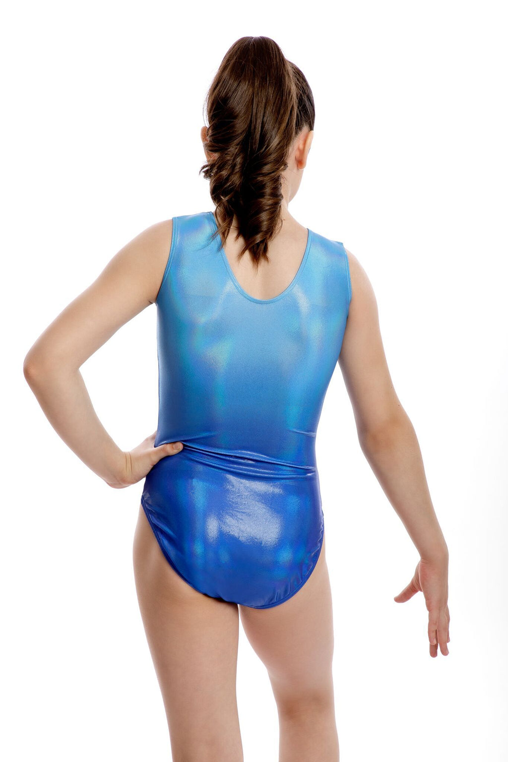 Ombre Blue Leotard