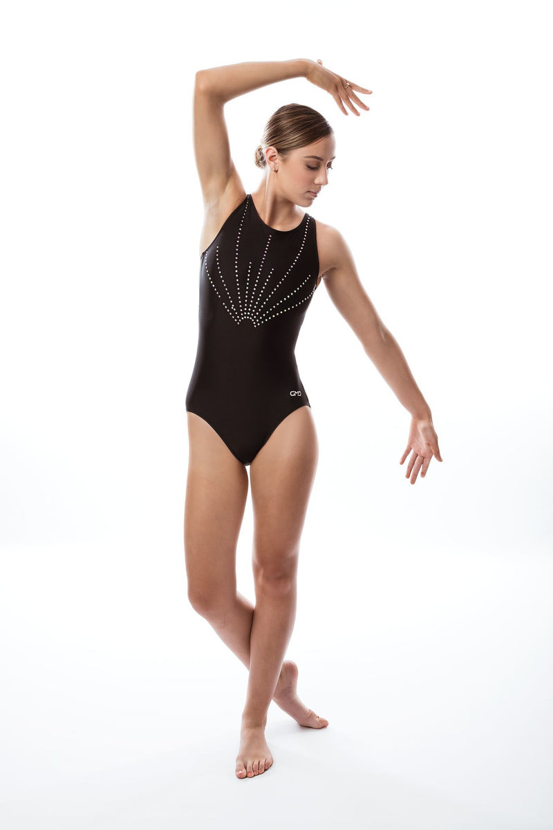 Midnight Bling Leotard