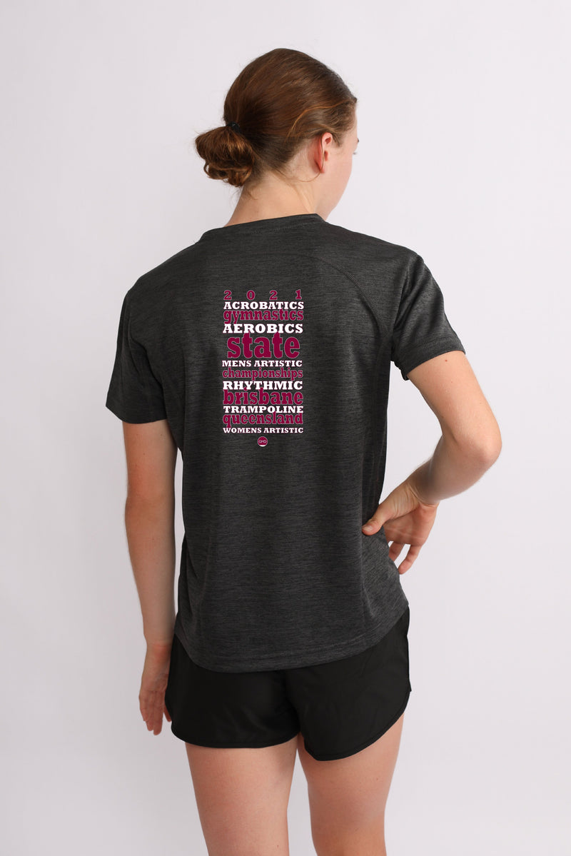 2021 State Championships - Sequin Tee Shirt