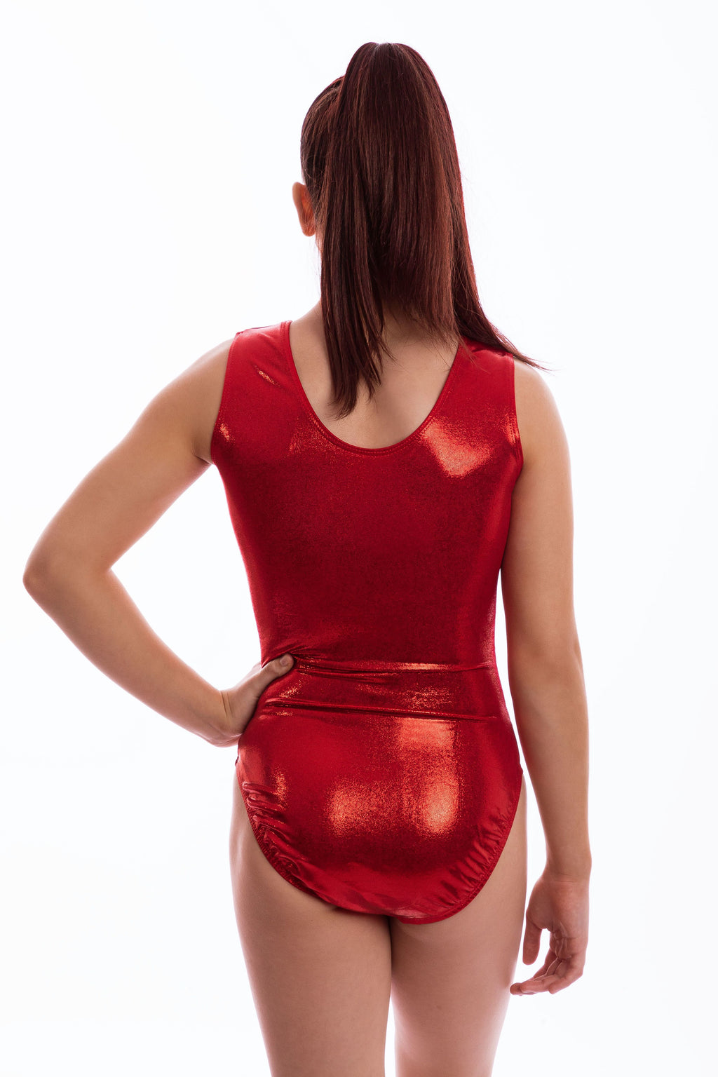 Red Mystique Leotard