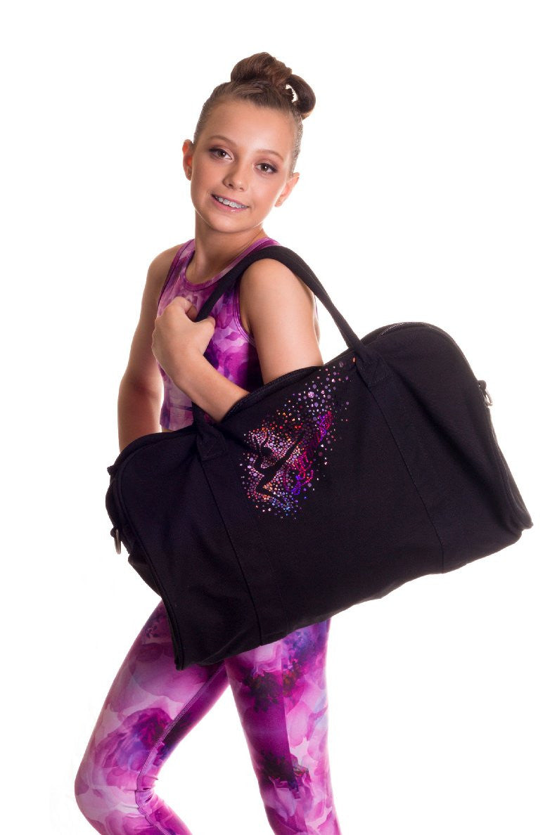 Leap for the stars Pink sequin duffle bag By GMD Activewear Australia