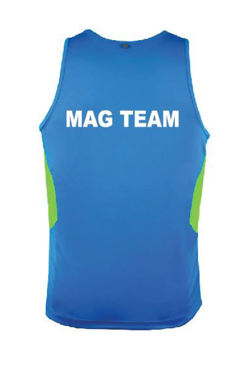 Splitz Gymnastics MAG Singlet - Club Uniforms by GMD Activewear Australia