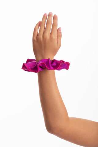 Grape Blue  Mystique Scrunchie