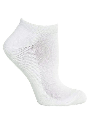 Plain White Ankle Socks By GMD Activewear