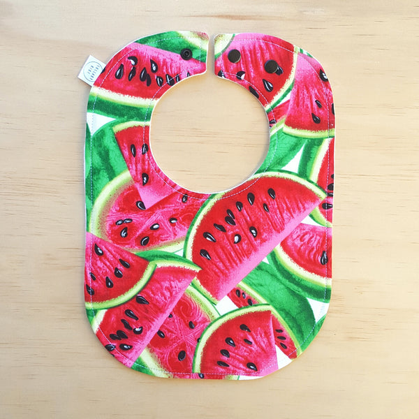 Watermelon Baby Bib - Lullaby Riot