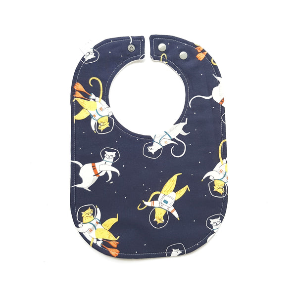 Space Cats Baby Bib - Lullaby Riot