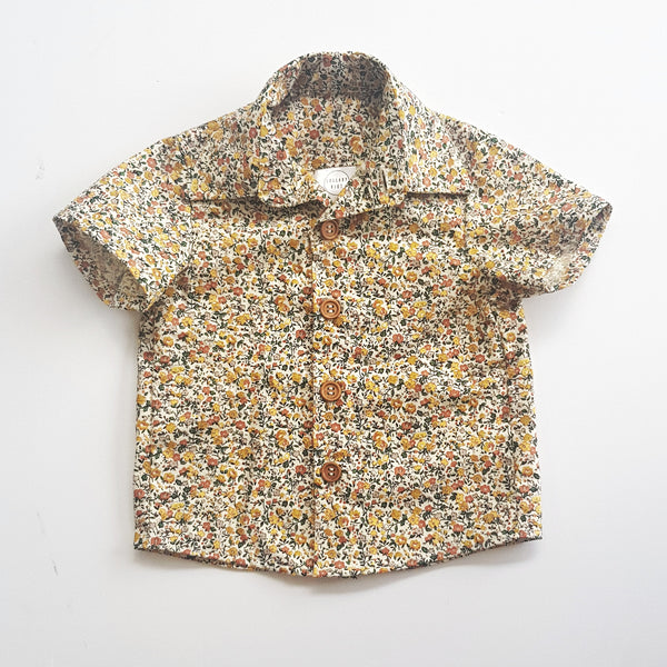 Classic Floral Shirt - sizes 4, 6 and 7 only - Lullaby Riot