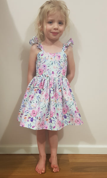Malibu Spring Floral Dress ONLY SIZE 3 LEFT - Lullaby Riot