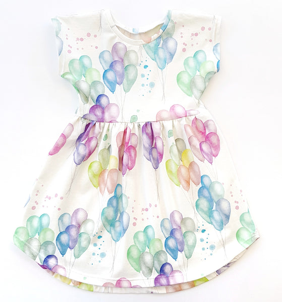 Balloon Party Dress - sizes 1 and 2 only - Lullaby Riot