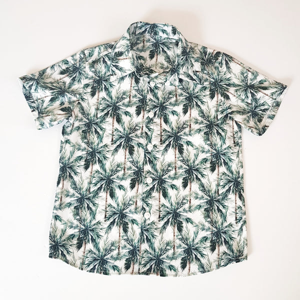 Palm Trees Shirt - Sizes 4 and 5 only - Lullaby Riot