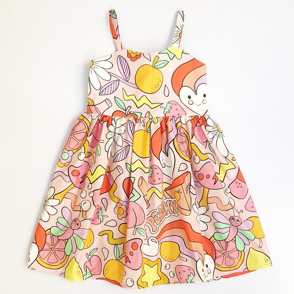 Life is Peachy Dress - Size 5 only