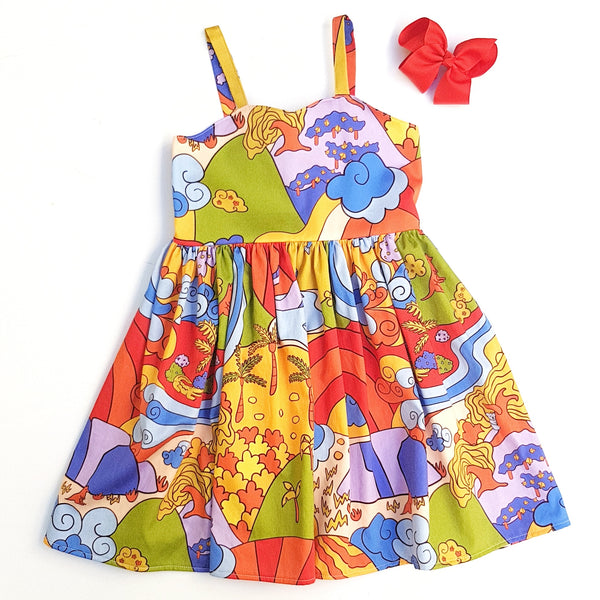 Sunburnt Country Dress - Size 4 only - Lullaby Riot