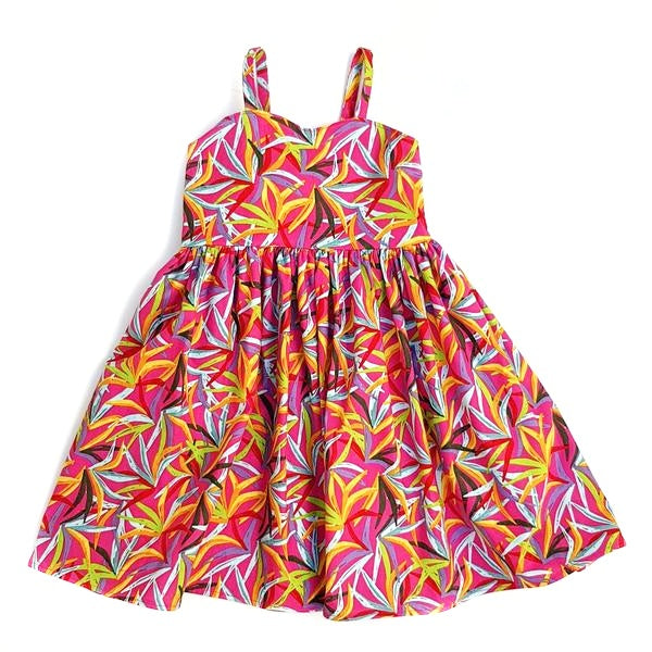 Palm Dress - Size 3 only - Lullaby Riot
