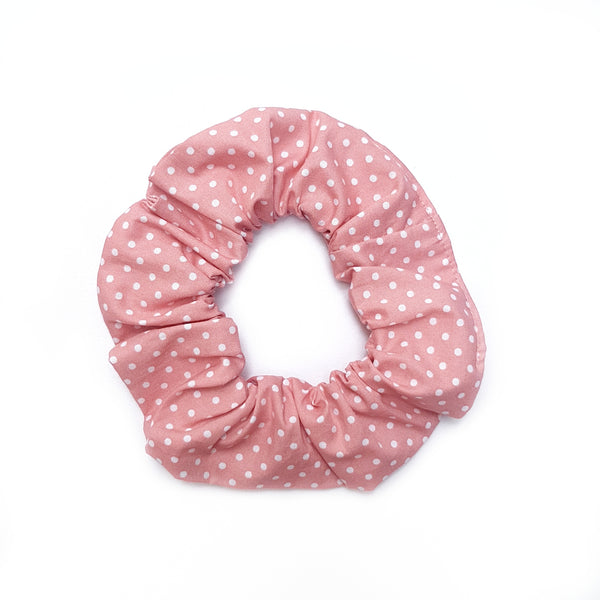 Pink Dot Scrunchie - Lullaby Riot