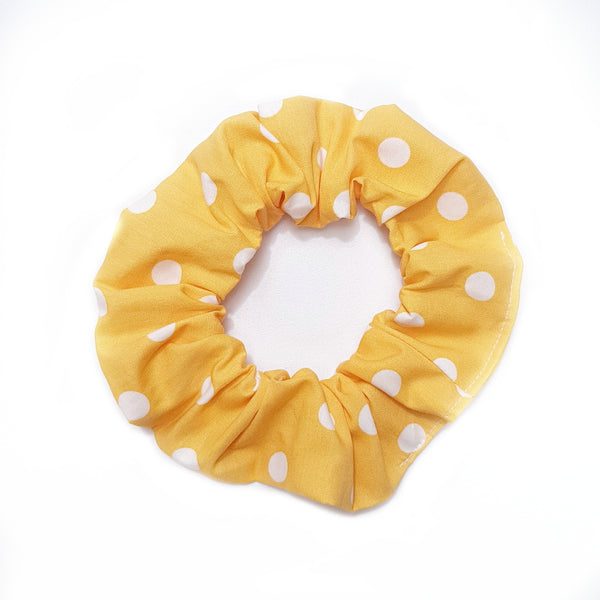 Yellow Dot Scrunchie - Lullaby Riot