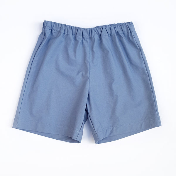 Shorts - Blue - sizes 4, 6 and 8 only - Lullaby Riot