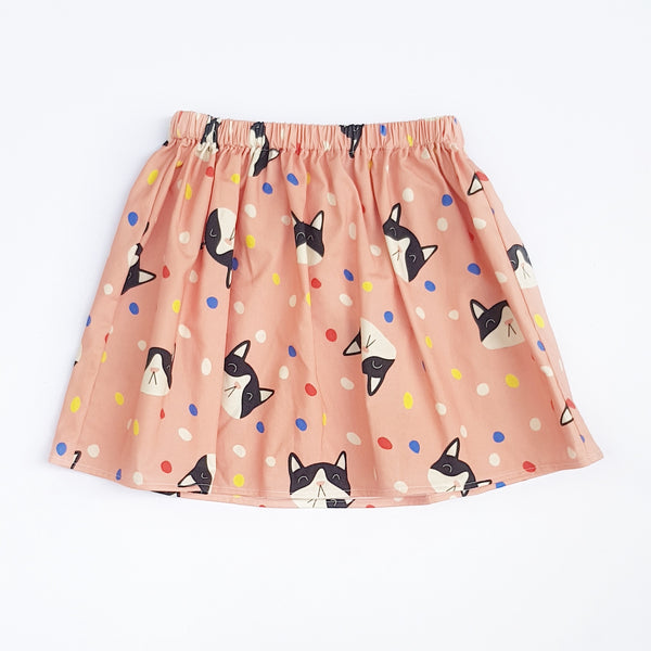 Confetti Cat Skirt - Lullaby Riot