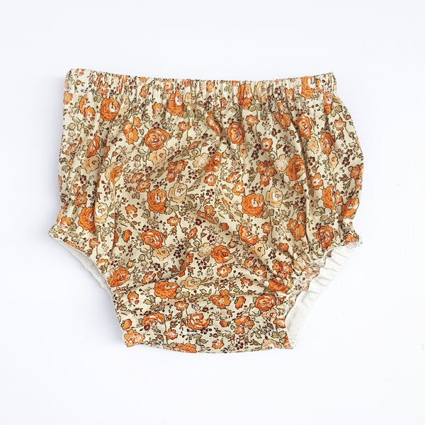Retro Floral Nappy Cover - Lullaby Riot
