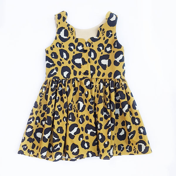 Leopard Print Dress - size 3 and 8 only - Lullaby Riot