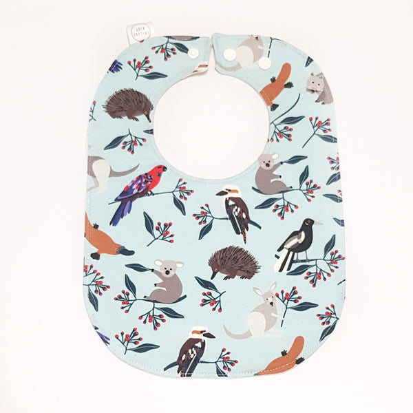 Aussie Animals Baby Bib - Lullaby Riot