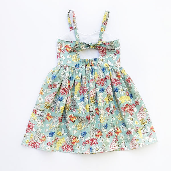 May Gibbs Gumnut Friends Dress - Size 5 only - Lullaby Riot