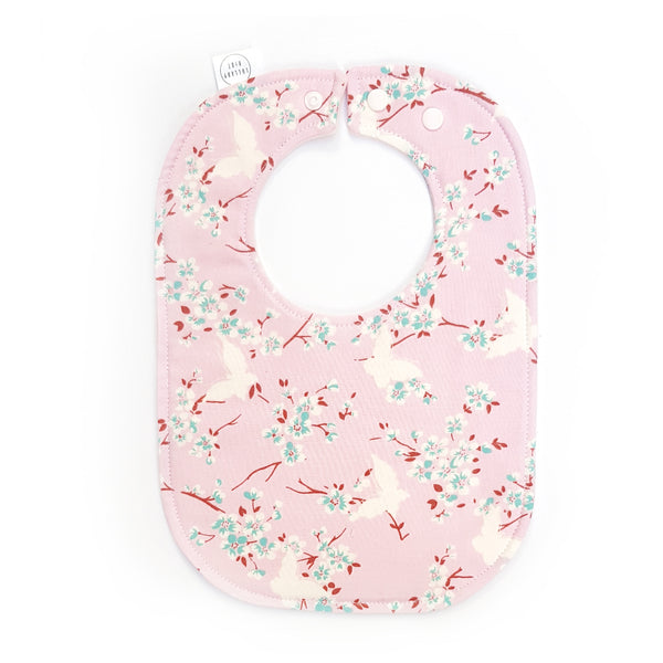 Pink Butterfly Baby Bib - Lullaby Riot