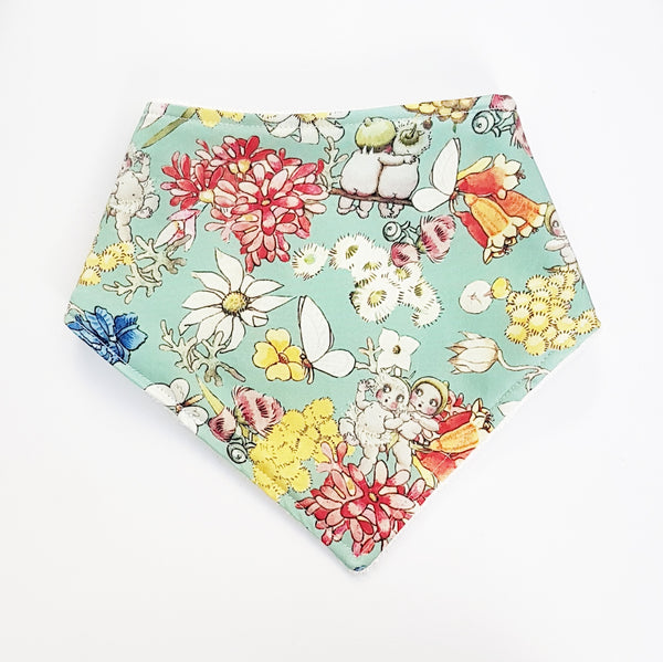 May Gibbs Gumnut Friends Bandana Bib - Lullaby Riot