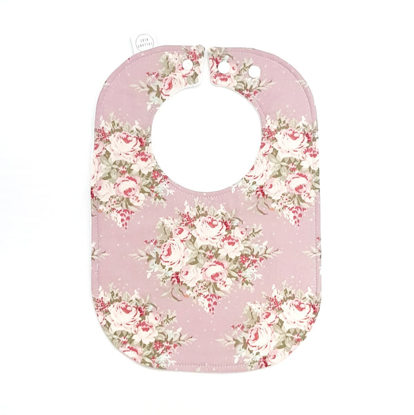 Vintage Flowers Baby Bib - Lullaby Riot