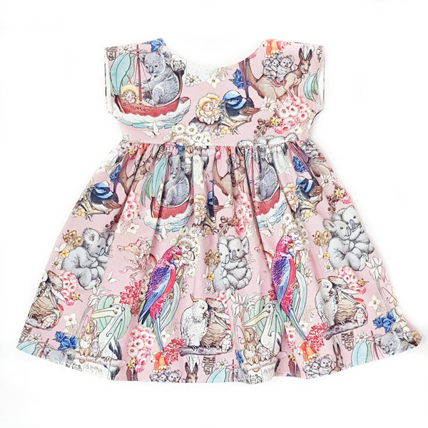 May's Tales Ava Dress - Limited Edition PINK - Size 5 only