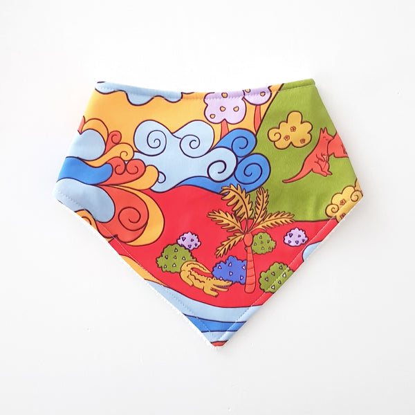 Sunburnt Country Bandana Bib