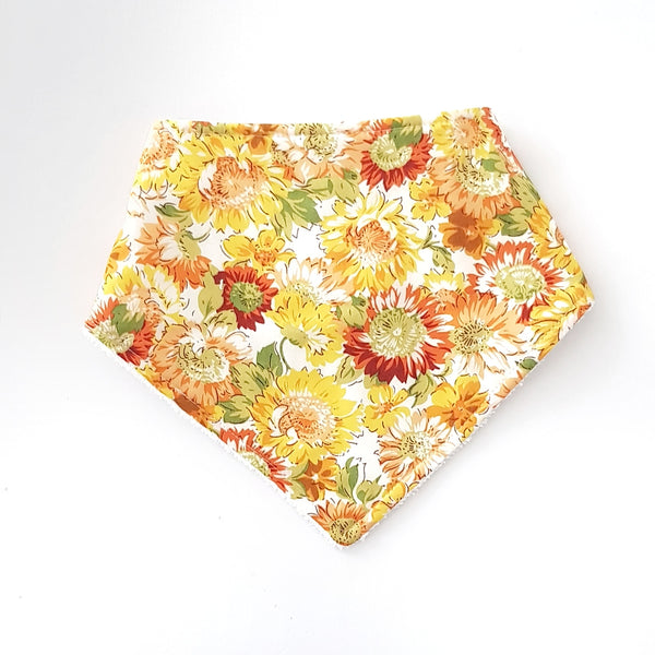 Sunflower Bandana Bib